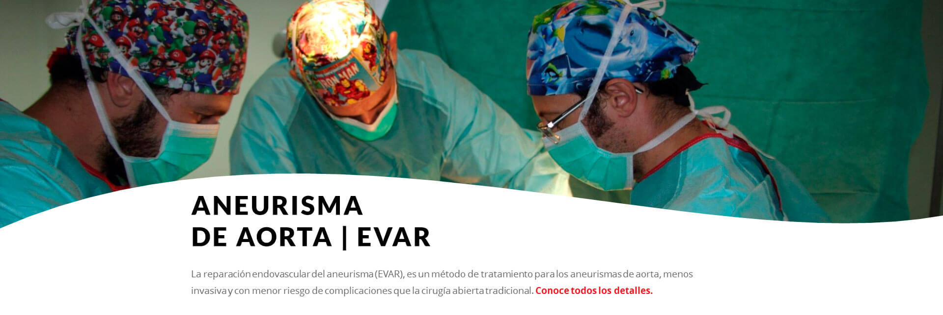 aneurisma de aorta EVAR